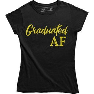 Educated AF T-Shirts College Graduation Senior Tee